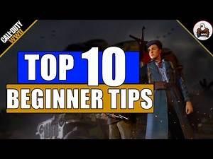 CoD WW2 | Top 10 Beginner's Tips
