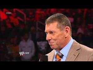 Mr. McMahon convinces Vickie Guerrero to make a match for the Money in the Bank Briefcase: Raw, Dec.