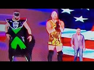 RVD KURT ANGLE RETURNS TO WWE RAW REUNION