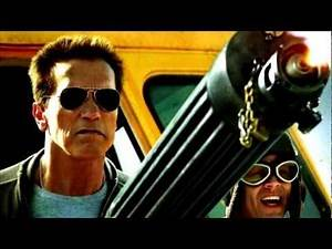 The Last Stand (2013) NEW POSTER! special fan edit video - (Schwarzenegger Movie)