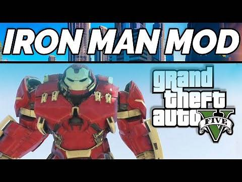 How to Install GTA 5 Iron Man v2.0 mod