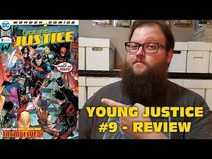 Young Justice #9 - Review (FINALLY TEEN LANTERN'S ORIGIN STORY!)