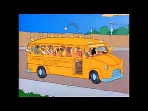 Bart Goes On A School Trip - The Simpsons