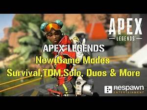 Apex Legends | *NEW* Game Modes Leaked!!! | Survival, TDM, Solo, Duos & More