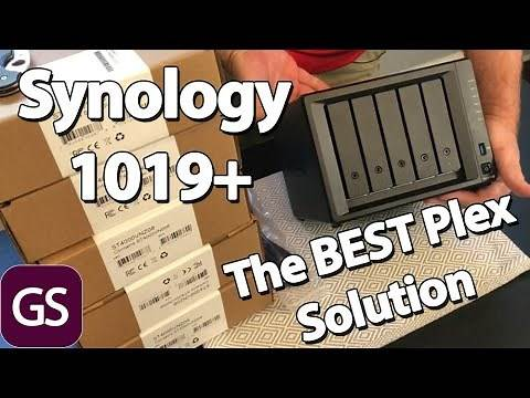 The Best Plex Nas For Serving 4K Movies Synology 1019+