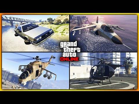 GTA 5 Online - Top 5 Weaponized Vehicles for Missions!! (Worth Every Penny)