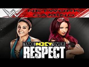 Bayley vs Sasha Banks - WWE NXT Takeover Respect Full Match