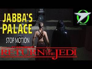 Princess Leia's Secret to Opening Jabba's Palace Gate (Return of the Jedi - Stop Motion) 2019