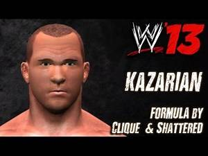WWE '13 Kazarian CAW Formula By Clique & Shattered