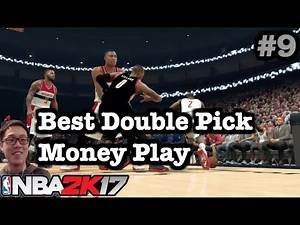 NBA 2K17 Tips Best offense How to do Double Pick. 2K17 defense breaker Tutorial. Money Play Tips#9