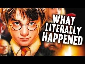 What Literally Happened in Harry Potter and the Sorcerer's Stone
