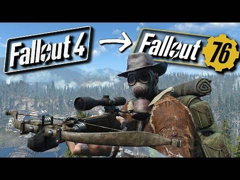 How To Turn Fallout 4 Into Fallout 76 (But Better) - Fallout 76 in Fallout 4 Mods (PART 3)