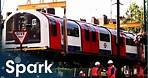 Lifting London's Tube Trains Into The Underground | Huge Moves | Spark