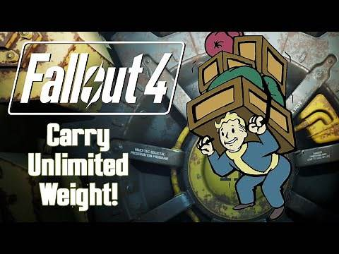 Fallout 4 Glitch   How To Carry Unlimited Weight!