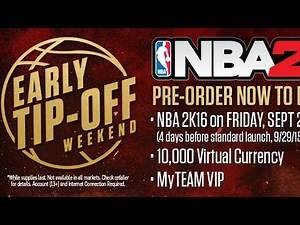 NBA 2K16 - How to Get it Early! and MyTeam VIP