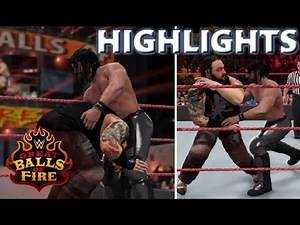 WWE 2K17 SETH ROLLINS VS BRAY WYATT | GREAT BALLS OF FIRE 2017 - PREDICTION HIGHLIGHTS
