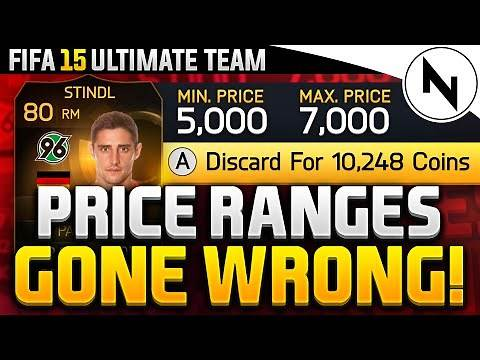 PRICE RANGES GONE WRONG! - FIFA 15 Ultimate Team