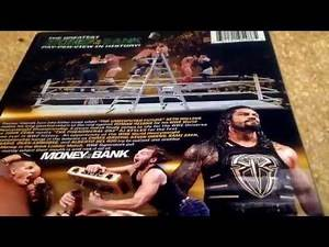 WWE money in the bank 2016 DVD Review.