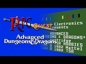 RPG Quest #2: Advanced Dungeons & Dragons (Intellivision)