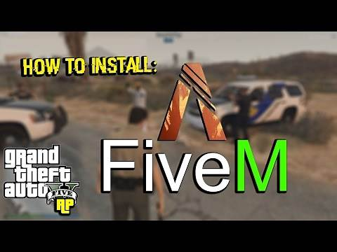 HOW TO INSTALL: FiveM (GTA RP) Trainer! (Tutorial)