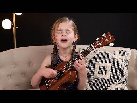 Can't Help Falling In Love - Elvis Cover by 6-Year-Old Claire Crosby