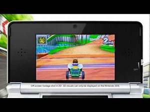 Gameplay - Mario Kart 7 (Daisy Hills Online Race)