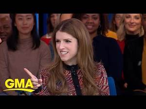 Anna Kendrick gets into the Christmas spirit in 'Noelle' l GMA