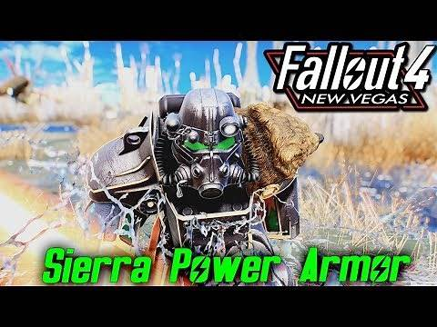 Fallout 4 - SCORCHED SIERRA POWER ARMOR - Fallout NEW Vegas Inspired (XBOX/PC MODS)