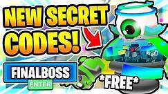 ALL *NEW* SECRET WORKING CODES in GHOST SIMULATOR!👁️FINAL BOSS👁️ Roblox Ghost SImulator