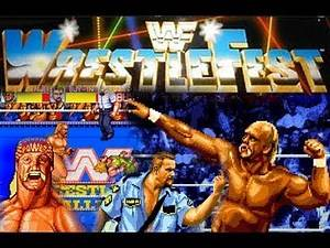 The History of WWF Wrestlefest Documentary WWE arcade