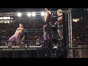 Extended Bullet Club vs CHAOS at NJPW Fallout Down Under Tour, Sydney