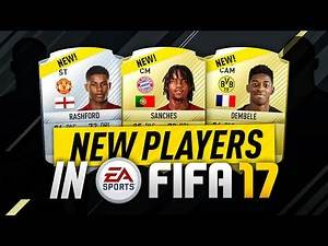 NEW PLAYERS IN FIFA 17!