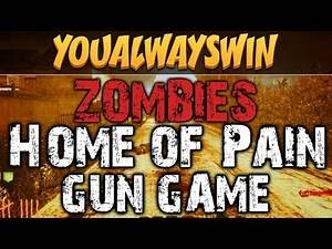 HOME OF PAIN [Part 2] ★ Call of Duty Zombies (Zombie Games)