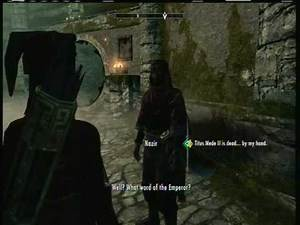 Skyrim: Female Elf Walkthrough Part 142 *Dark BrotherHood Quests*