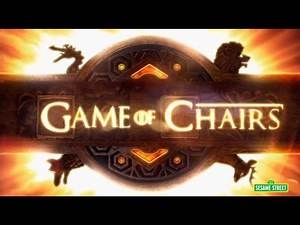 Game of Chairs (Game of Thrones Parody) - Sesame Street