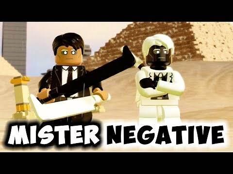 LEGO Spider-Man Ps4 - Mister Negative Minifigures