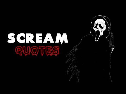 Ghostface Quotes - Scream (1996)