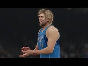 NBA 2K16 PS4 Play Now - Dirk Doin Work!