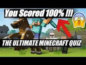 Quiz-Diva Ultimate Minecraft Quiz Answers.