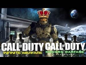 HALO PLAYER DESTROYS CALL OF DUTY PLAYERS