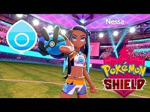 Pokémon Shield - Pokemon League Gym Leader Nessa