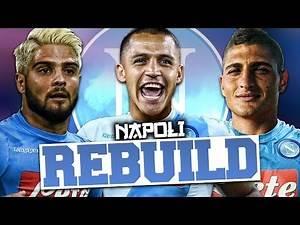 REBUILDING NAPOLI!!! FIFA 17 Career Mode