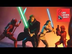 Star Wars: LUKE'S BATTLE (Han, Luke, Leia Reunion) - Stop-Motion Mini Film