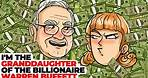 I'm the Granddaughter of the Billionaire Warren Buffett   Animated Story about Slums
