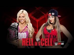 WWE 2K15 Hell in a Cell PPV - Divas Champion Charlotte vs. Nikki Bella