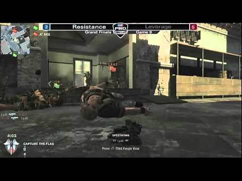MLG Dallas Call of Duty: Black Ops Finals: Resistance vs Leverage Part 1