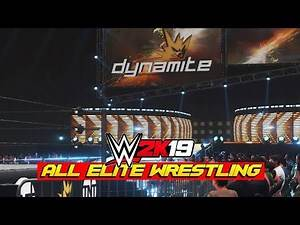 WWE 2K19 Creations: All Elite Wrestling Dynamite | Create An Arena