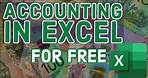 Excel Based Accounting Software (100% FREE!)