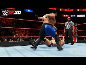 WWE 2K20 - Samoa Joe vs. Cesaro
