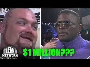 Bam Bam Bigelow - How Much WWF Paid Me & Lawrence Taylor at Wrestlemania 11